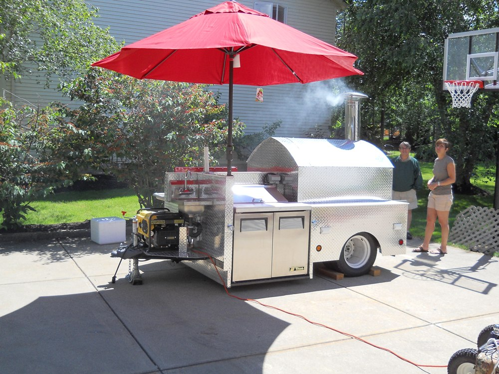 Mobile Catering Private Party And Rental Wood Fired Pizza Trailers