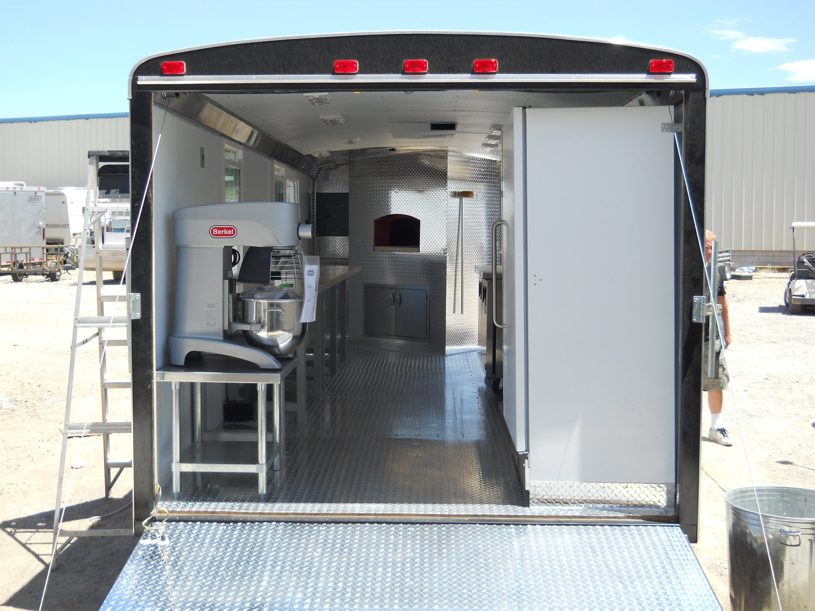 Wood Fired Pizza Trailers